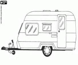 caravan coloring printable game