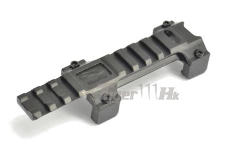 Walther Mounting Mp5 nob mp5 metal 20mm scope mount with walther marking black airsoft tiger111hk area