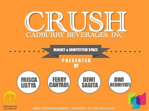 ferry dwi cahyadi crush brand cadburry beverages