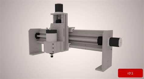 design and make cnc new project begin id2cnc v 2 0 aluminum cnc id2cnc