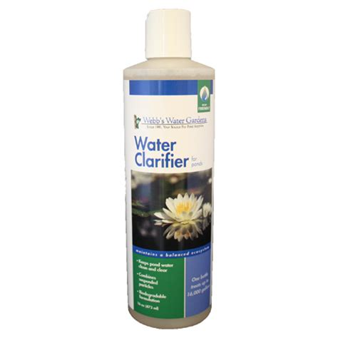 webb s water gardens water clarifier 16 oz best prices