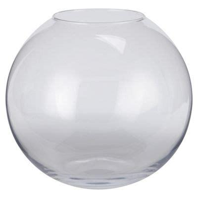Glass Bowl Vase by Buy Glass Bowl Vase From Our Vases Bowls Range Tesco