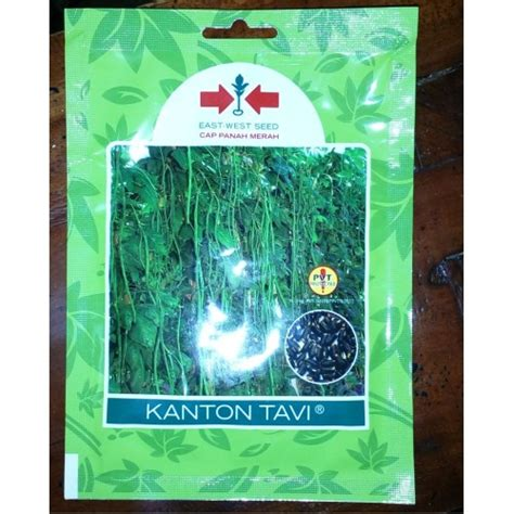 Benih Kacang Panjang Kanton Tavi jual benih kacang panjang kanton tavi panah merah