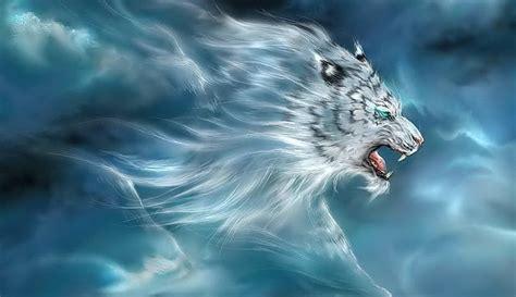 wallpaper harimau hitam khodam raja macan putih white tiger king portal ghaib