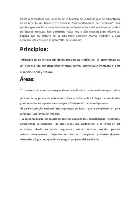 Diseño Curricular Nacional Concepto Dise 241 O Curricular Nacional Word
