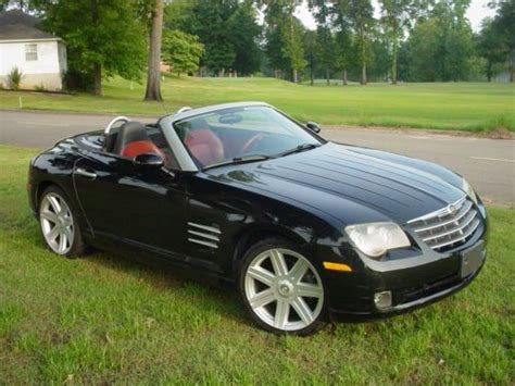 how petrol cars work 2006 chrysler crossfire roadster electronic toll collection sell used 2006 chrysler crossfire limited convertible 2 door 3 2l in heber springs arkansas