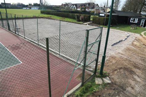 how to build a tennis court in your backyard installing a tennis court