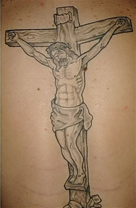 jesus crucifixion tattoo crucifix jesus