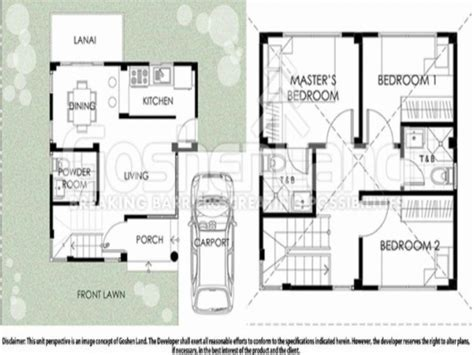 home plan design 100 sq ft 100 square meters house plan 100 square foot house plans
