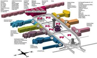 Los Angeles Terminal Map by Lax Airport Part 2