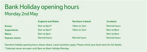 bank hours tesco bank opening times don t miss today s