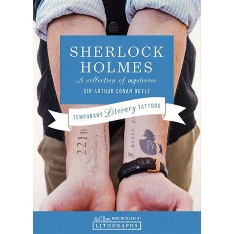 sherlock holmes tattoo sherlock temporary tattoos the literary gift company