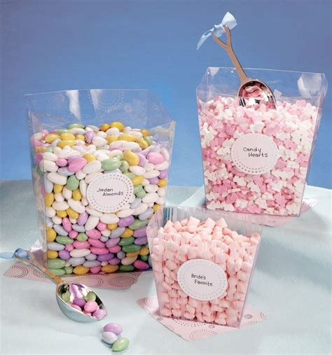 candy buffet square plastic container set 87119 fire