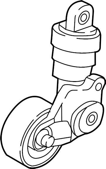 Fanbelt Mazda 2 Belum Skyactive mazda cx 5 belt tensioner drive belt tensioner assembly