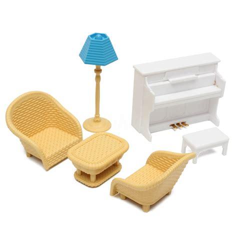 sofa toy dolls house kitchen living room bedroom miniature sofa