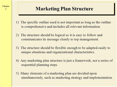Developing The Marketing Plan Ppt Video Online Download Elements Of A Marketing Plan Template