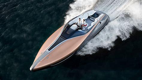 lexus boat lexus unveils 885 horsepower yacht