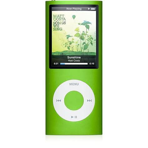 The Office Signed Ipod Nano by Apple Ipod Nano 4th 8gb Green Mb745ll A B H Photo