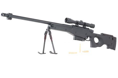 Jual Airsoft Gun Awp Blackcat Airsoft Min Model Gun Awp Black Buy Airsoft
