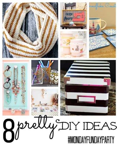 pretty diy projects 8 pretty diy project ideas mondayfundayparty