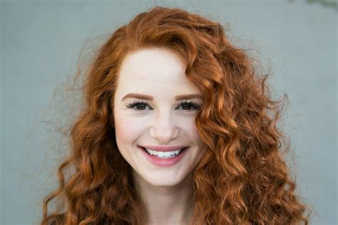 madelaine petsch close up riverdale s madelaine petsch rocks curly red hair for new
