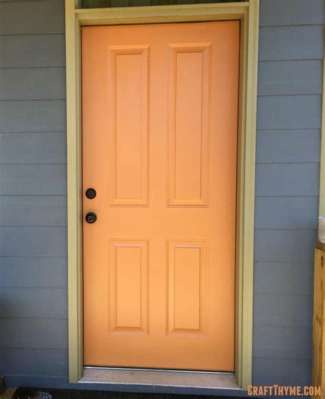orange front door your wish is my command pinterest orange or red front door craft thyme