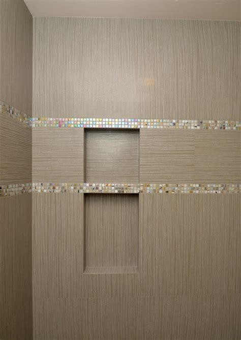 Bathroom Shower Curtain Ideas Designs shower niche contemporary bathroom seattle by all tile