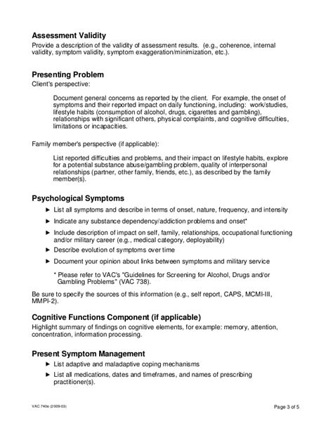 Psychological Assessment Report Psych Report Template