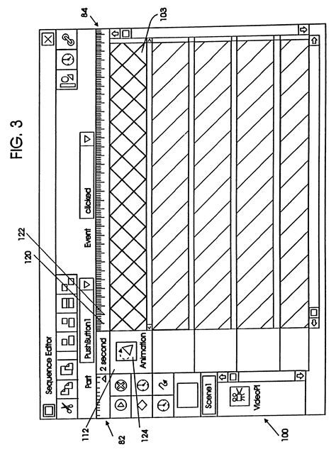 relative layout event patent us6188396 synchronizing multimedia parts with
