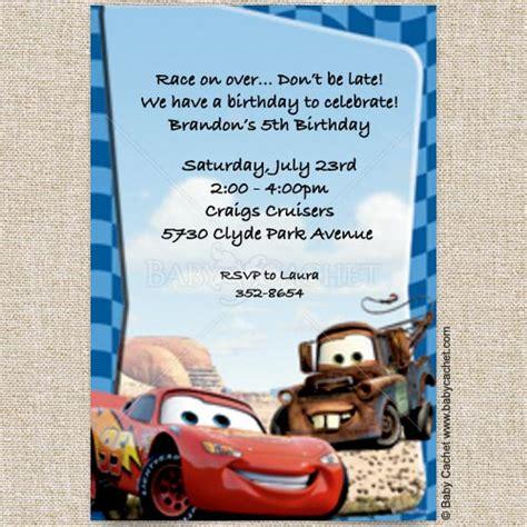 free printable birthday cards lightning mcqueen cars lightning mcqueen mater birthday invitations baby