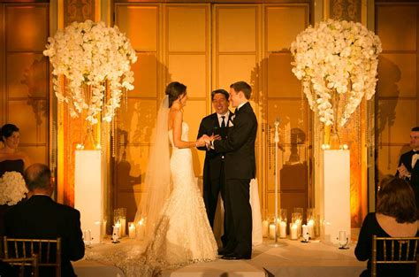 What Is Wedding by Achieve This Look Ceremony Ideas Orchids Pedestals Vases