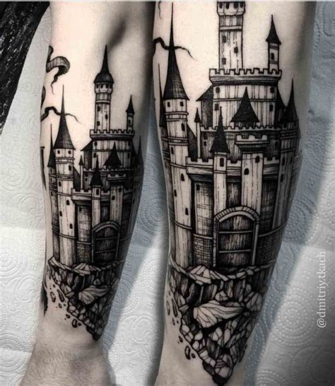 castle tattoo design castle best ideas gallery