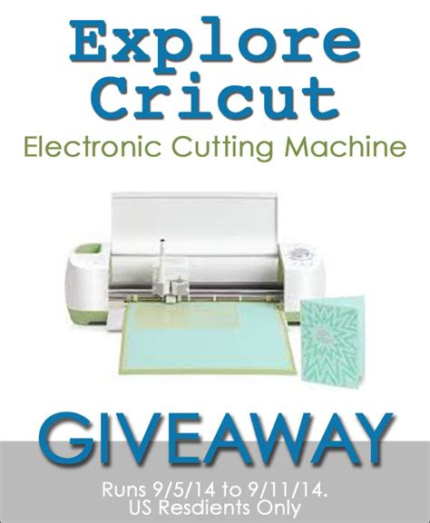 Cricut Giveaway - explore cricut giveaway over the big moon
