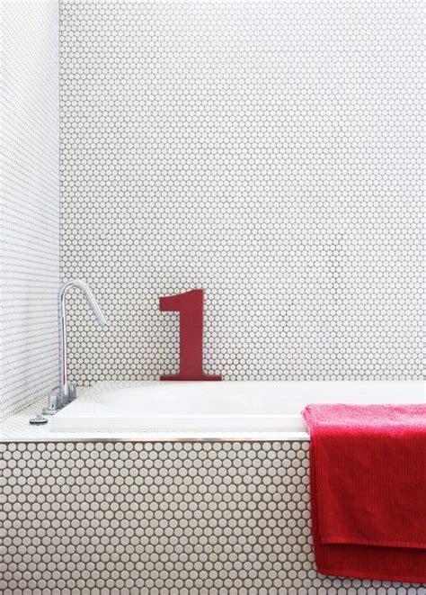 Bathroom Tile Gallery by 30 Penny Tile Designs That Look Like A Million Bucks