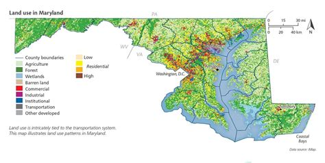 maryland agriculture map gallery