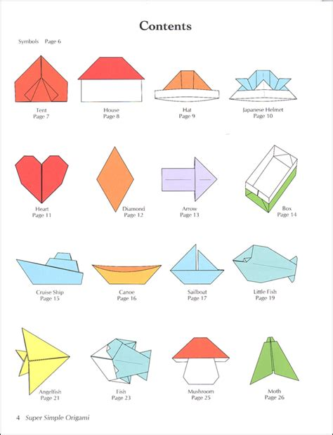 Simple And Easy Origami - easy paper origami comot