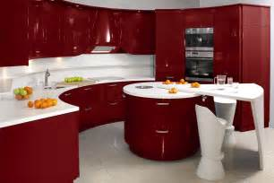 Red Kitchen Decor by Modern Kitchen Decoration Designs In Fresh Colors