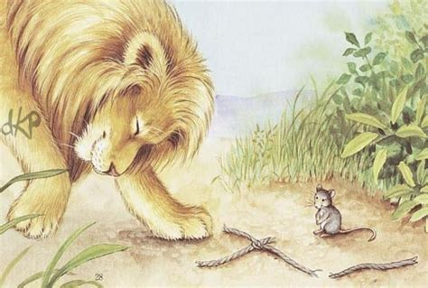 the lion the mouse kids page the lion and the mouse moral story for kids