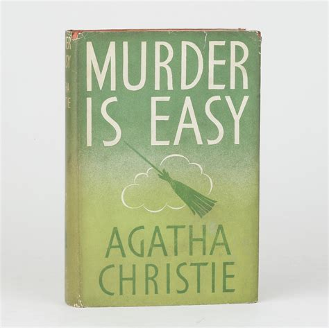 murder is easy by christie agatha jonkers rare books
