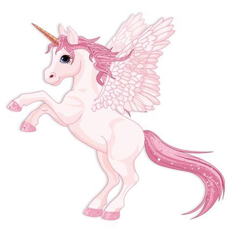 unicornios imagenes alas vinilo infantil unicornio con alas rosa