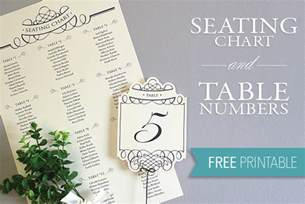 free printable wedding seating chart template printable seating chart table number template