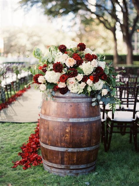 Rustic Garden Wedding Ideas with Country Wedding Ideas 20 Ways To Use Wine Barrels