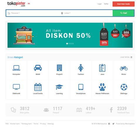 template classified marketplace