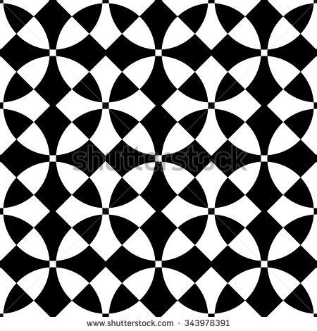 regular pattern texture seamless square circle pattern abstract black stock vector