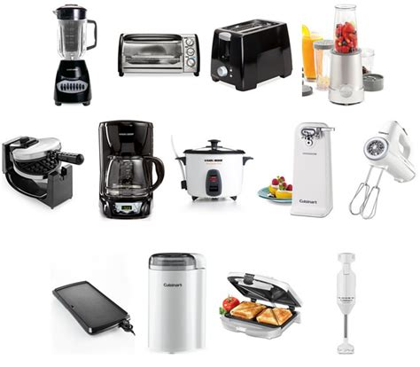 small appliances for kitchen small kitchen appliances list entrancing of essential