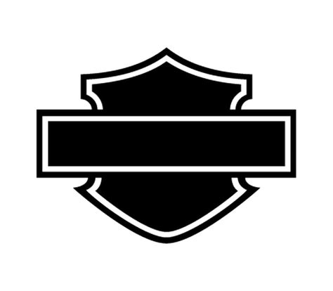 Aufkleber Motorrad Silhouette by Sticker Harley Davidson Logo Silhouette