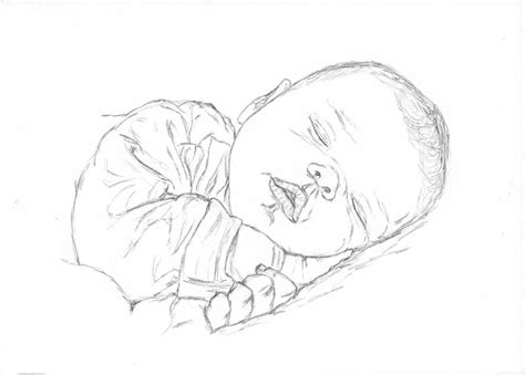 Sketch Furniture Lets You Draw A Then Nap On It by Baby Sleeping Drawing Easy Www Pixshark Images