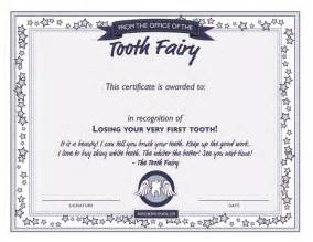 Free Tooth Certificate Template by Tooth Diy Series Tooth Certificate Template
