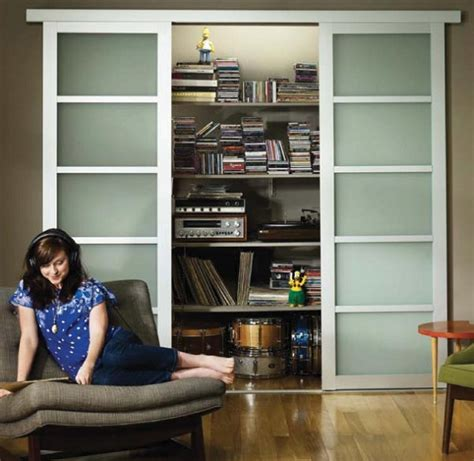 Frosted Glass Closet Sliding Doors Glass Sliding Closet Doors