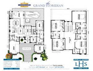 Grand Floridian 2 Bedroom Villa Floor Plan by The Grand Floridian Custom Home Builder I Design